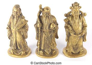 Fu Lu Shou - Chinese Auspicious Trinity Gods - The legendery...