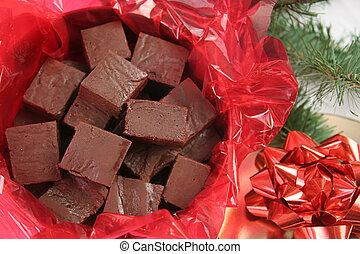 fudge, クリスマス