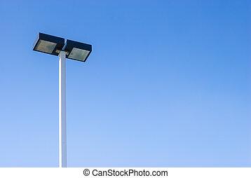fue adelante, lámparas de calle