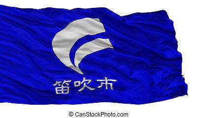 Fuefuki City Flag, Japan, Yamanashi Prefecture, Isolated On ...