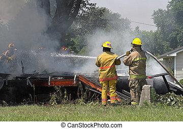 fuego, 2, rescate
