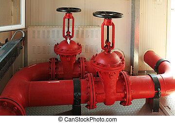 fuego, valves.