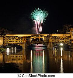 fuegos artificiales, italia