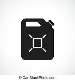 Fuel can vector icon