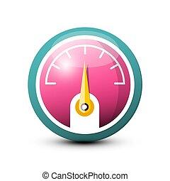 Fuel - Dashboard Vector Icon