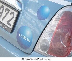 Fuel efficient car rally - Fuel-efficient car rally. 4 litre...