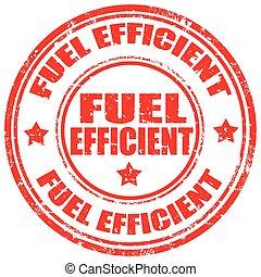 Fuel Efficient-stamp