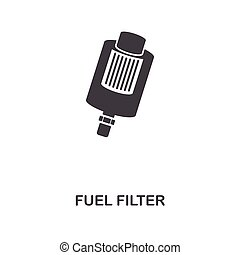 Fuel Filter creative icon. Simple element illustration. Fuel Filter concept symbol design from car parts collection. Can be used for web, mobile, web design, apps, software, print.