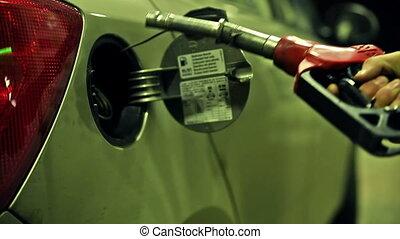 Fuel gas petrol diesel pump