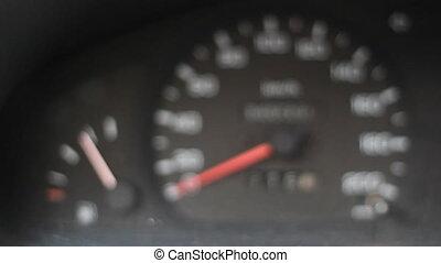 Fuel Gauge Speedometer
