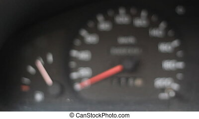 Fuel Gauge Speedometer