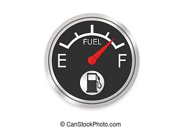 Fuel Gauge - High Resolution Image