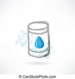 fuel grunge icon