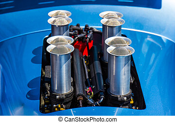 Fuel Injection Pipes On Automobile