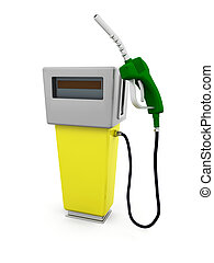 Fuel pump - 3D render of a fuel pump