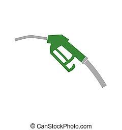 fuel pump nozzle icon