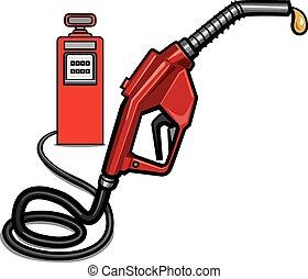 fuel station