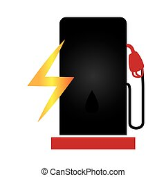 fuel station service icon