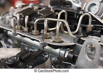 Fuel System - supply system for diesel fuel