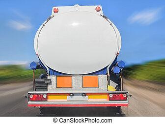 fuel tanker track