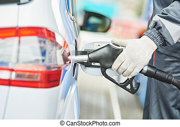 fuelling, automobile, diesel, station-service, carburant