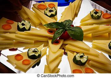 fuente de queso