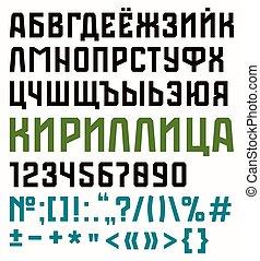 fuente, estilo, deporte, serif, sin