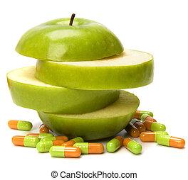 fuente, vitaminas