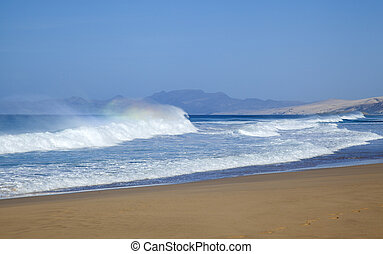 Fuerteventura, Canary Islands, Cofete beach