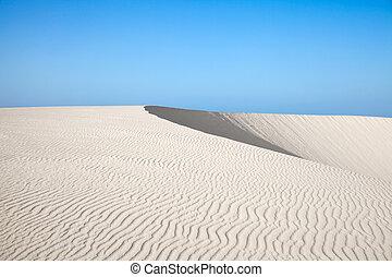 Fuerteventura, Canary Islands, Dunes of Corralejo - Northern...
