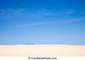 Corralejo sand dunes