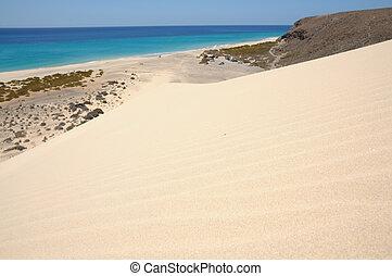 fuerteventura, costa, ilhas canário, espanha