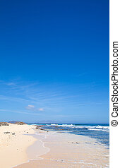 Fuerteventura, edge of Burro beach