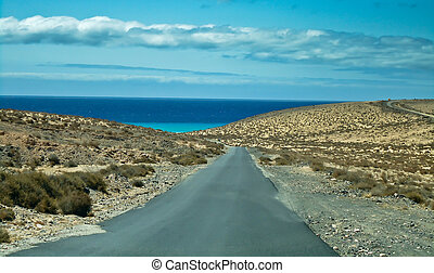Fuerteventura road