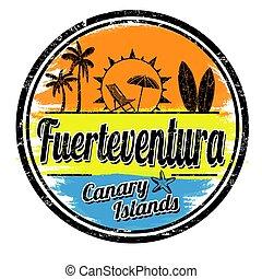 Fuerteventura sign or stamp