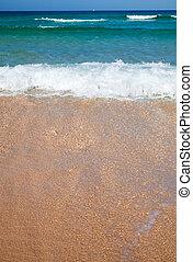 Fuerteventura, white sand beach