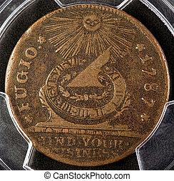 Fugio Copper Coin.