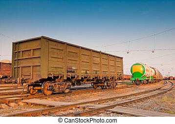 Fuhrwerk, Eisenbahn, Verbleibende Wiedergabedauer - Titel, fracht