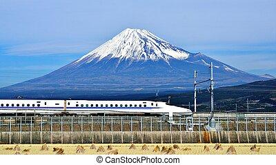 fuji , τρένο