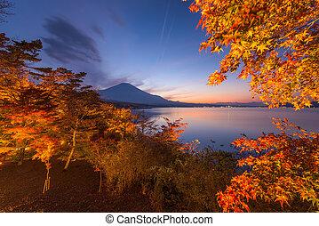Fuji in Fall