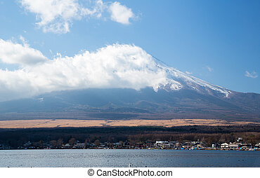Fuji Mountain yamanaka lake - Fuji fujisan from yamanaka ...