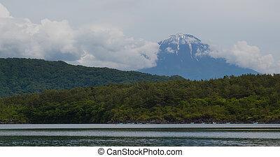 Fujisan in the Saiko Lake