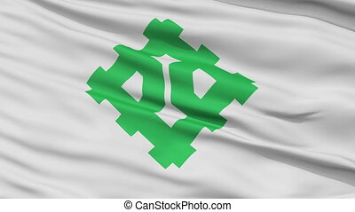 Fukui Capital City Close Up Flag - Chiba Capital City Flag,...
