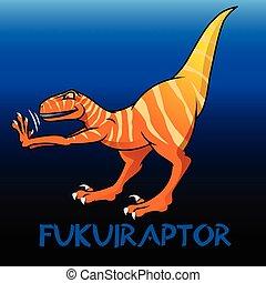 fukuiraptor, schattig, dinosaurussen