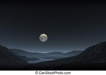 fuld måne