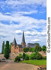 Fuldaer Dom (Cathedral) in Fulda, Hessen, Germany