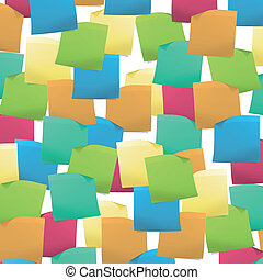 Full background with Post it