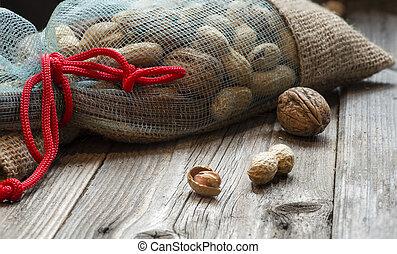 Full bag of nuts