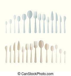 Full cutlery set