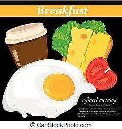 Full english and american breakfast